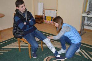 Урок-тренінг з надання першої медичної допомоги