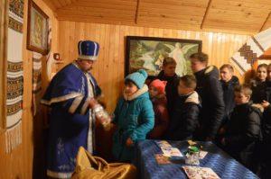 Відвідали будиночок Святого Миколая