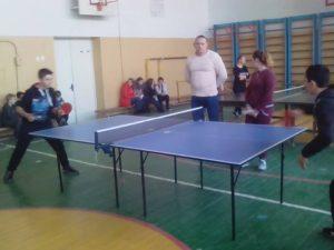 Районні змагання з настільного тенісу